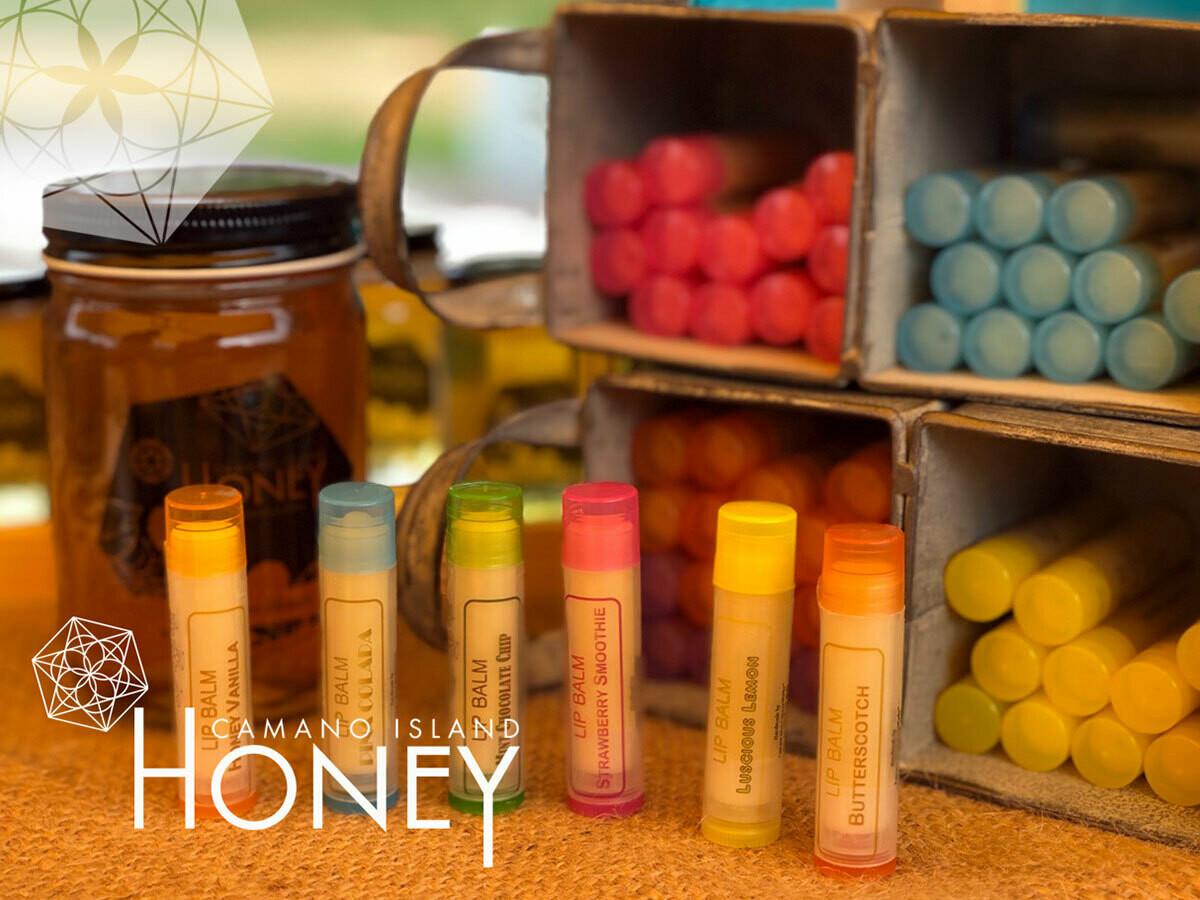 Camano Island HoneyWorks Lip Balms
