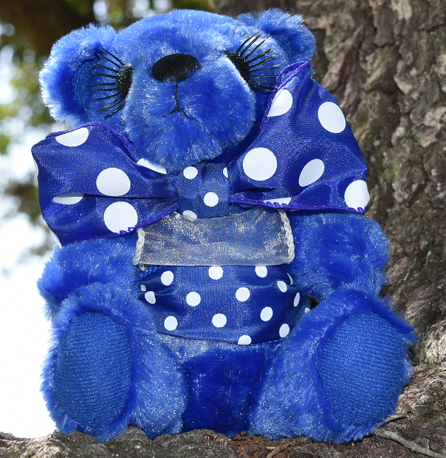 DRESSED boy bear