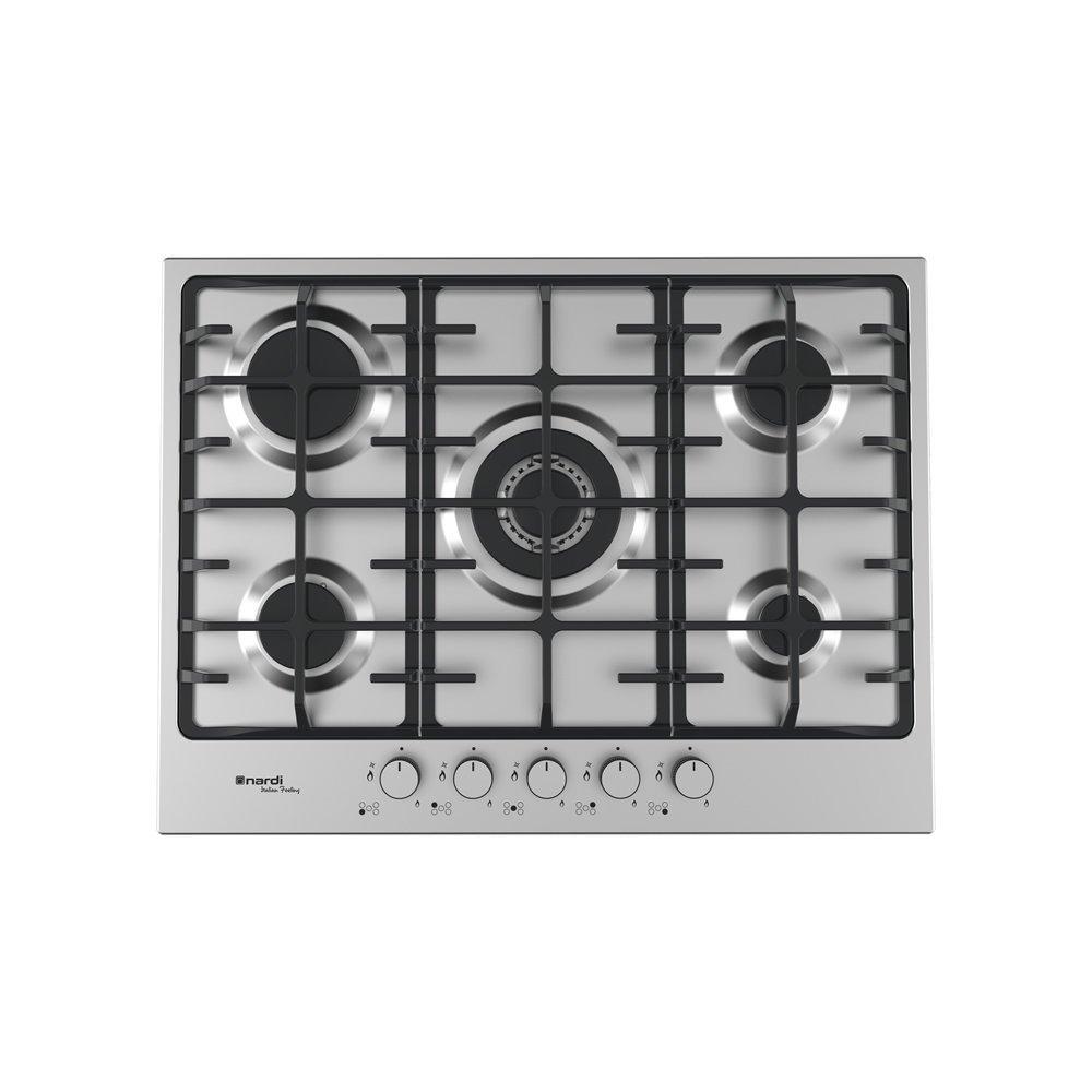 NARDI Piano Cottura Gas VG55AVX 70 cm 5 Fuochi