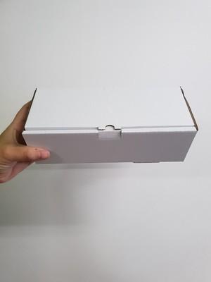 Box Corrugated Sub - 224 x 90 x 67mm - White