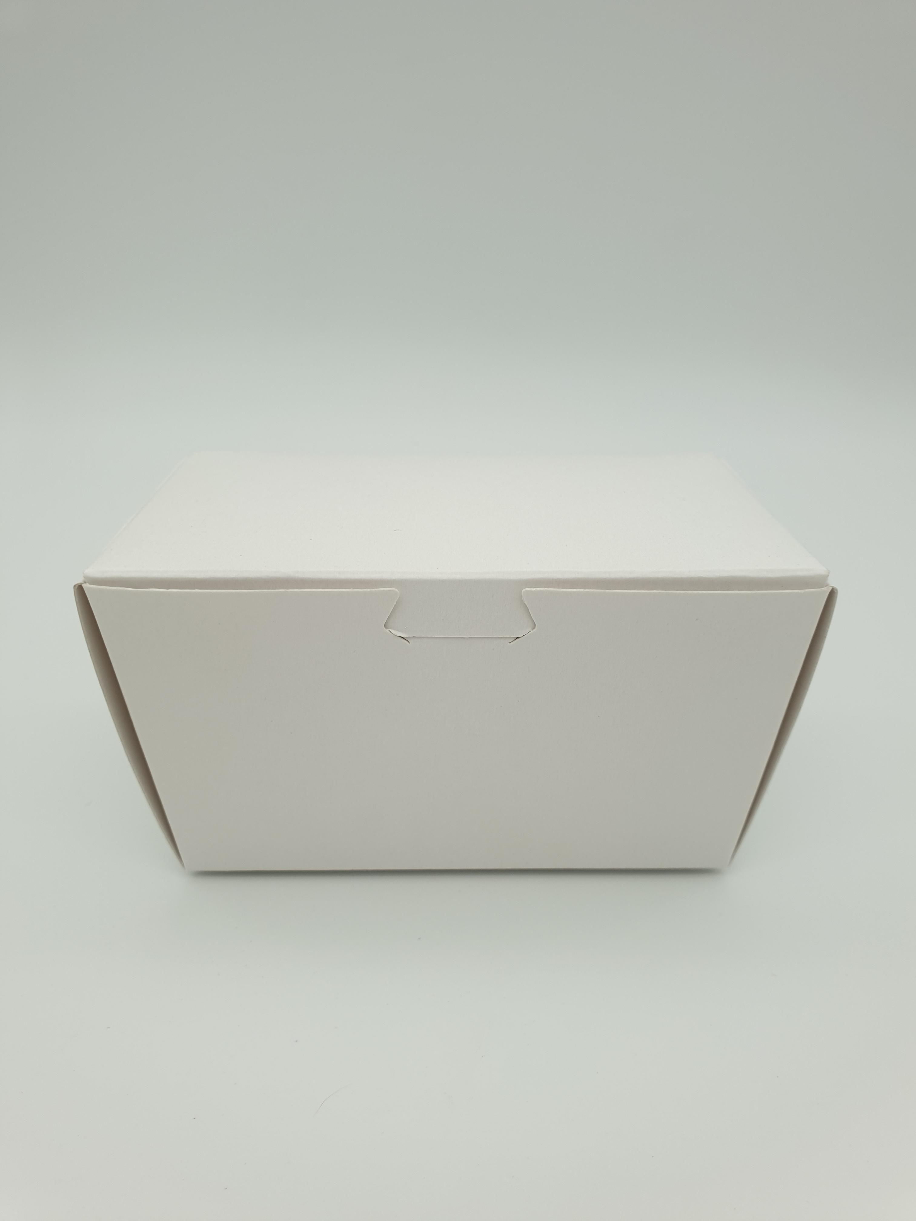 Box Truffle Large White 90Lx50Wx55Hmm (each) BTLW