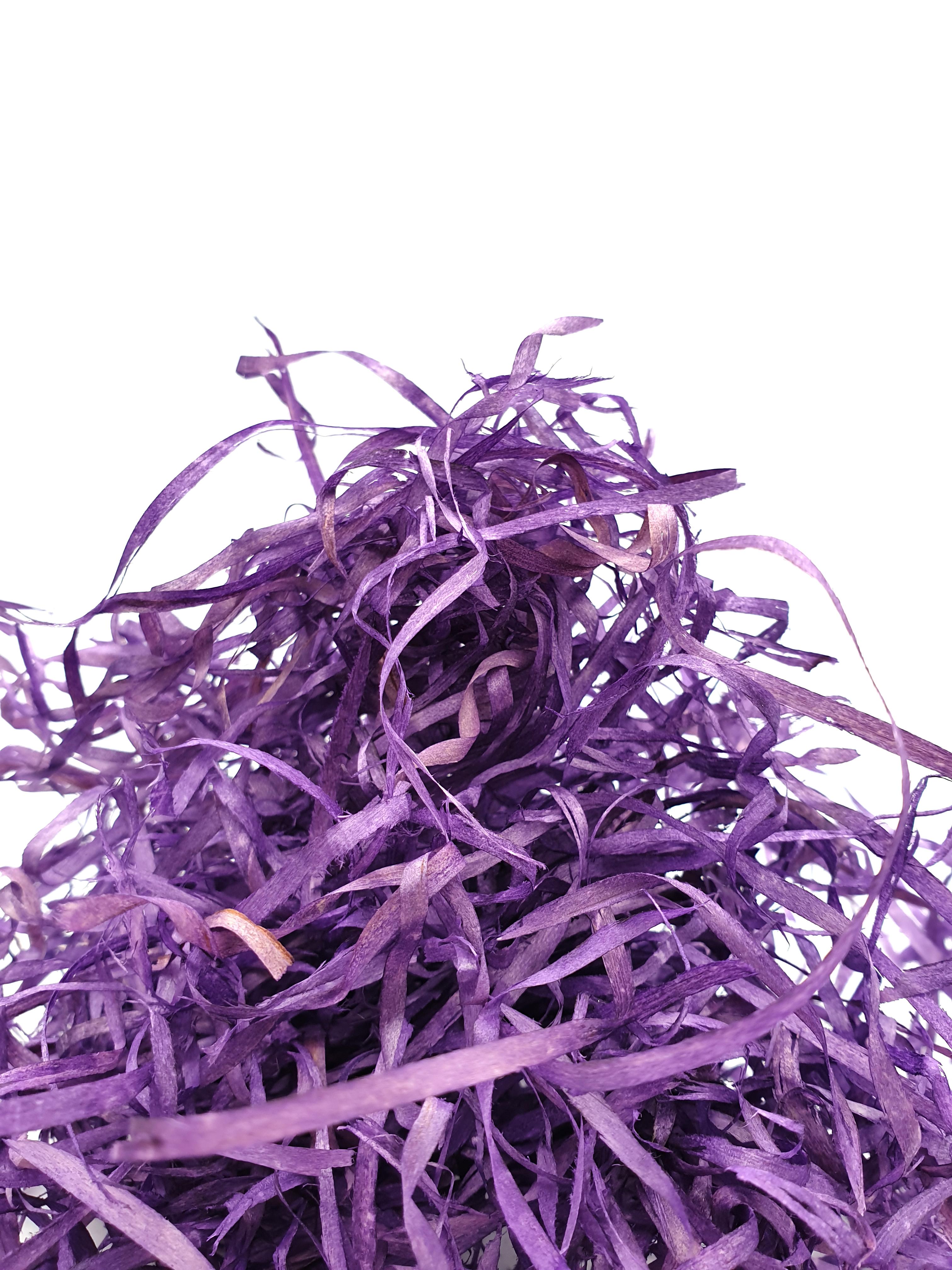 Wood Wool 100g Fine - Purple WWPUR