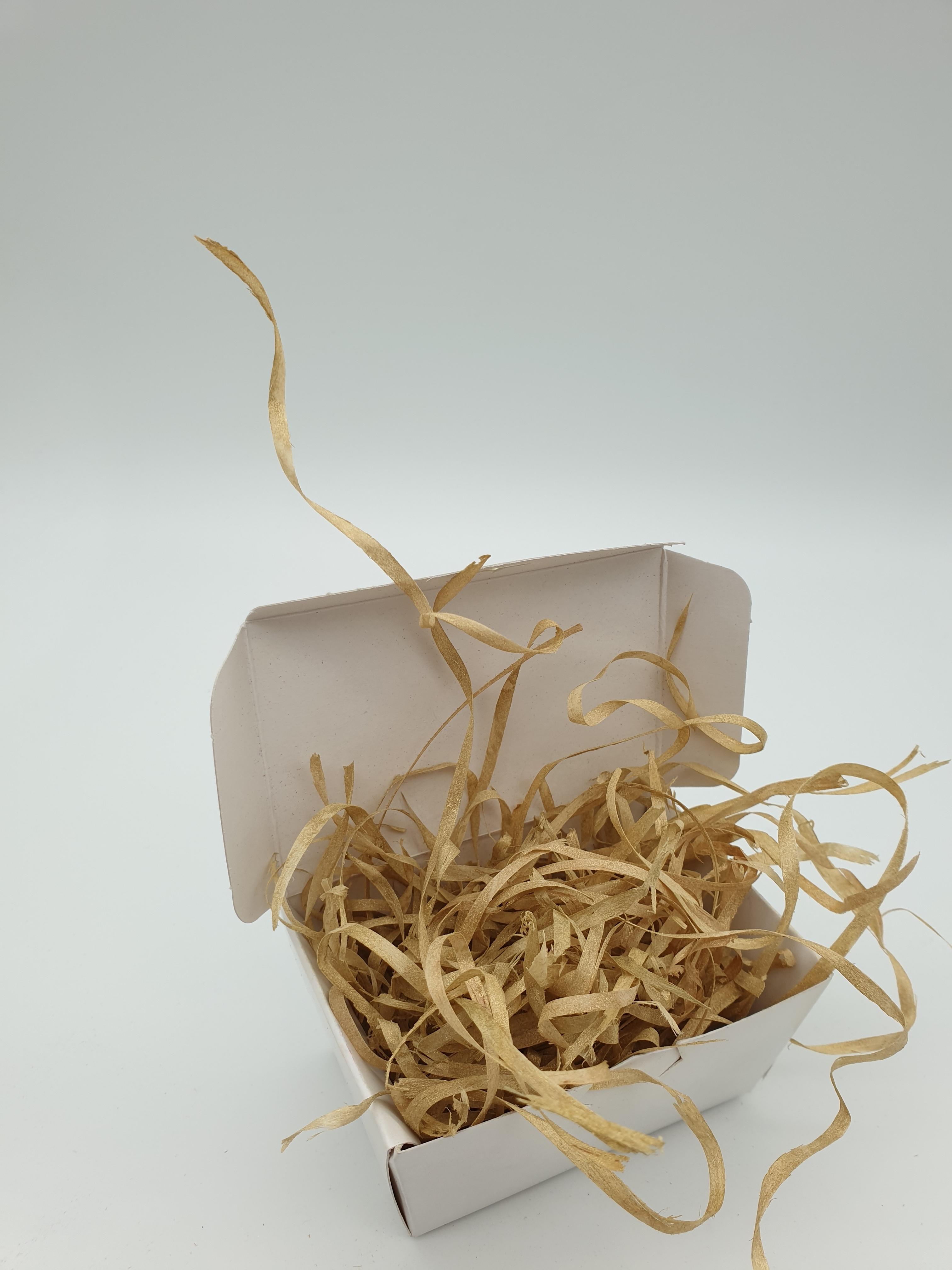 Wood Wool 100g Fine - Gold