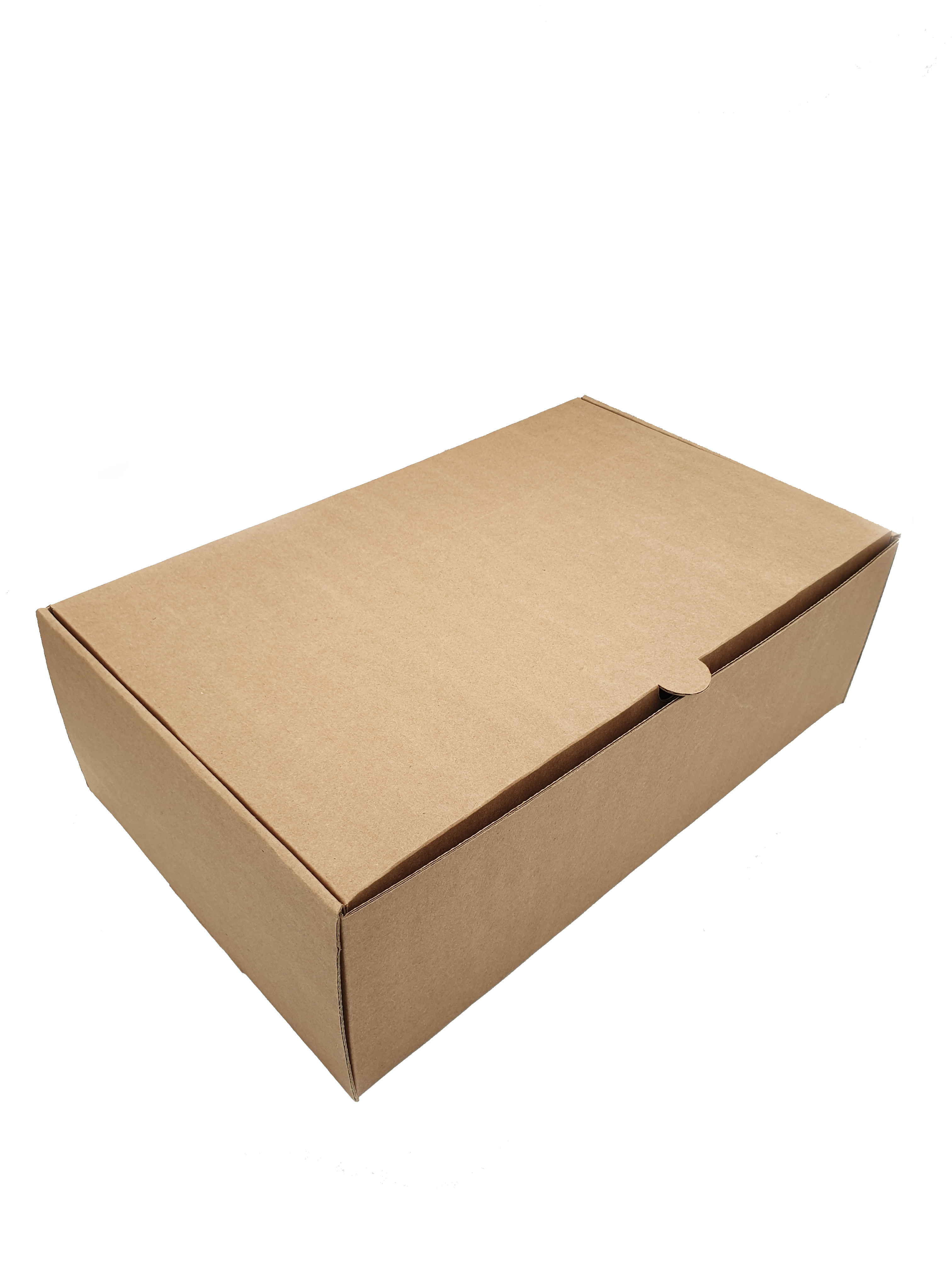 Corrugated E-Flute Shoe Box 349x211x111mm SHOEB