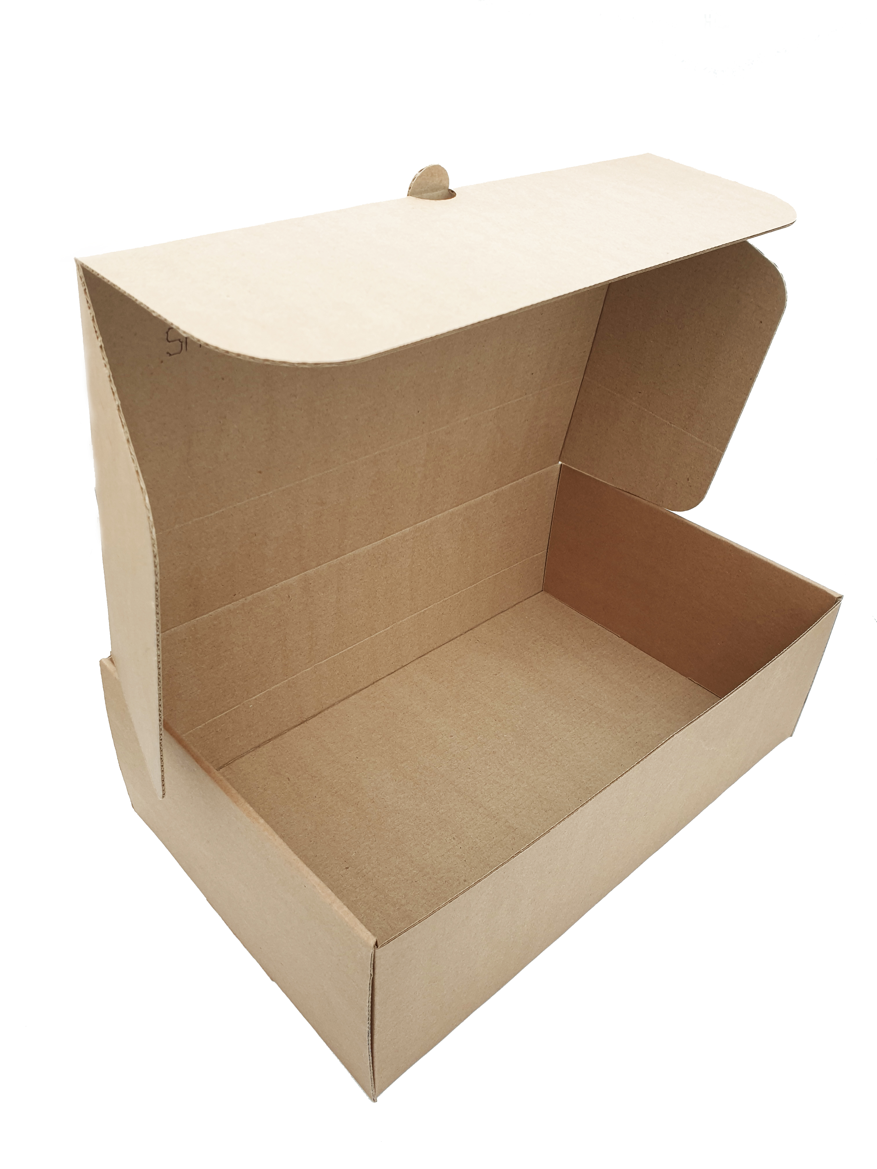 Corrugated E-Flute Shoe Box 349x211x111mm