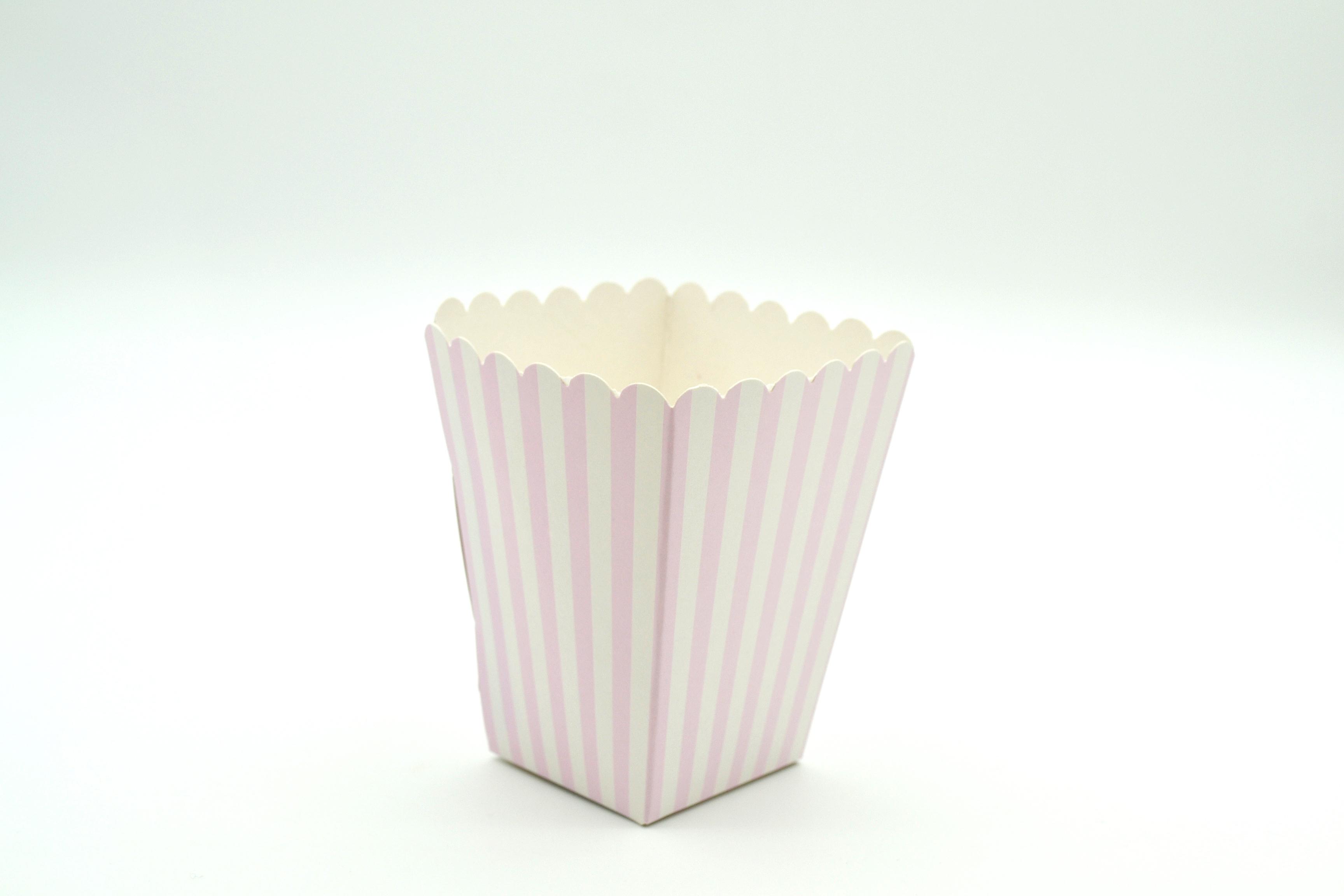 Box Popcorn Mini B/Pink 5 x 5 x 10 cm (each)