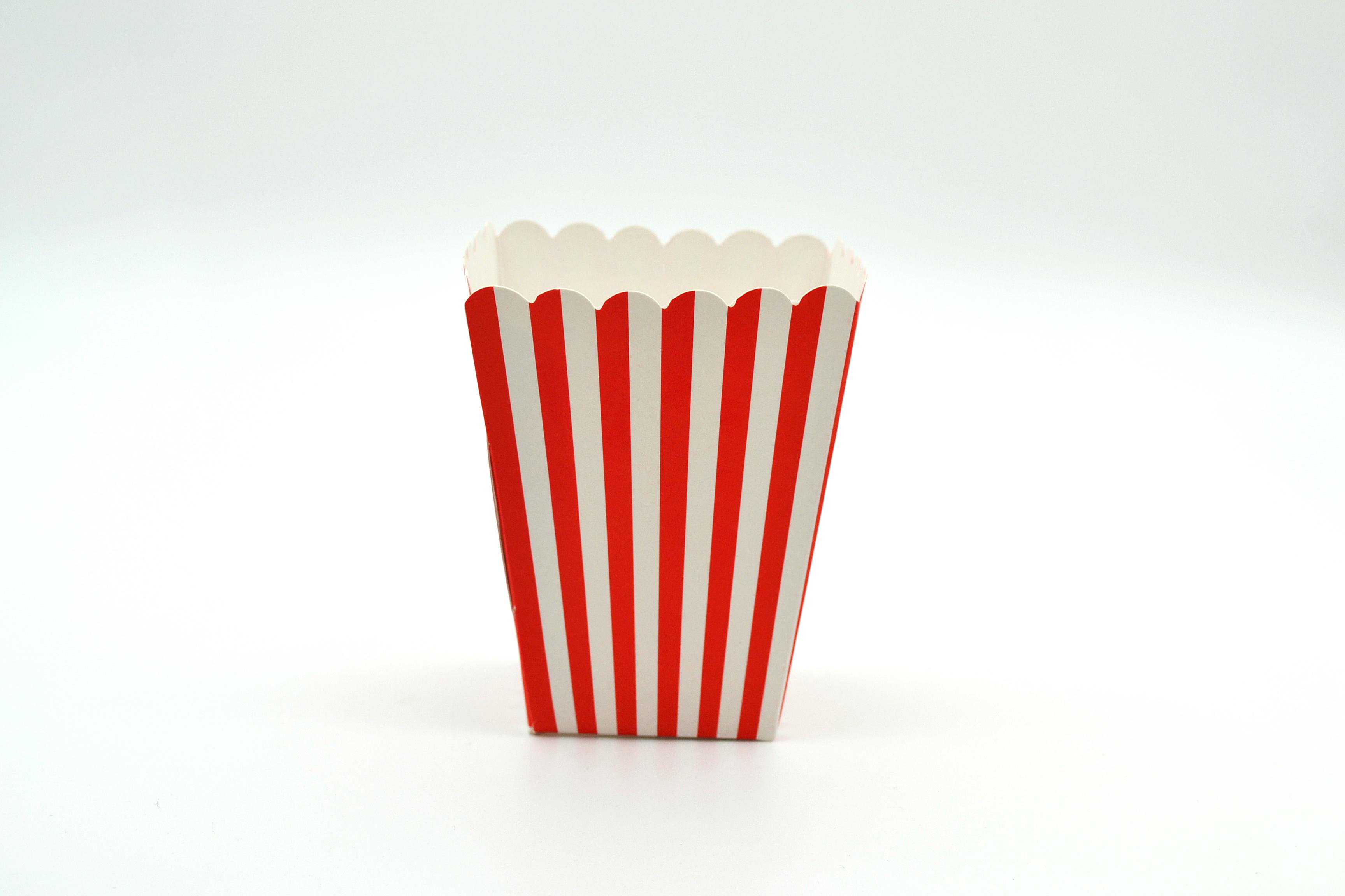 Box Popcorn Mini Red 5 x 5 x 10 cm (each) POP