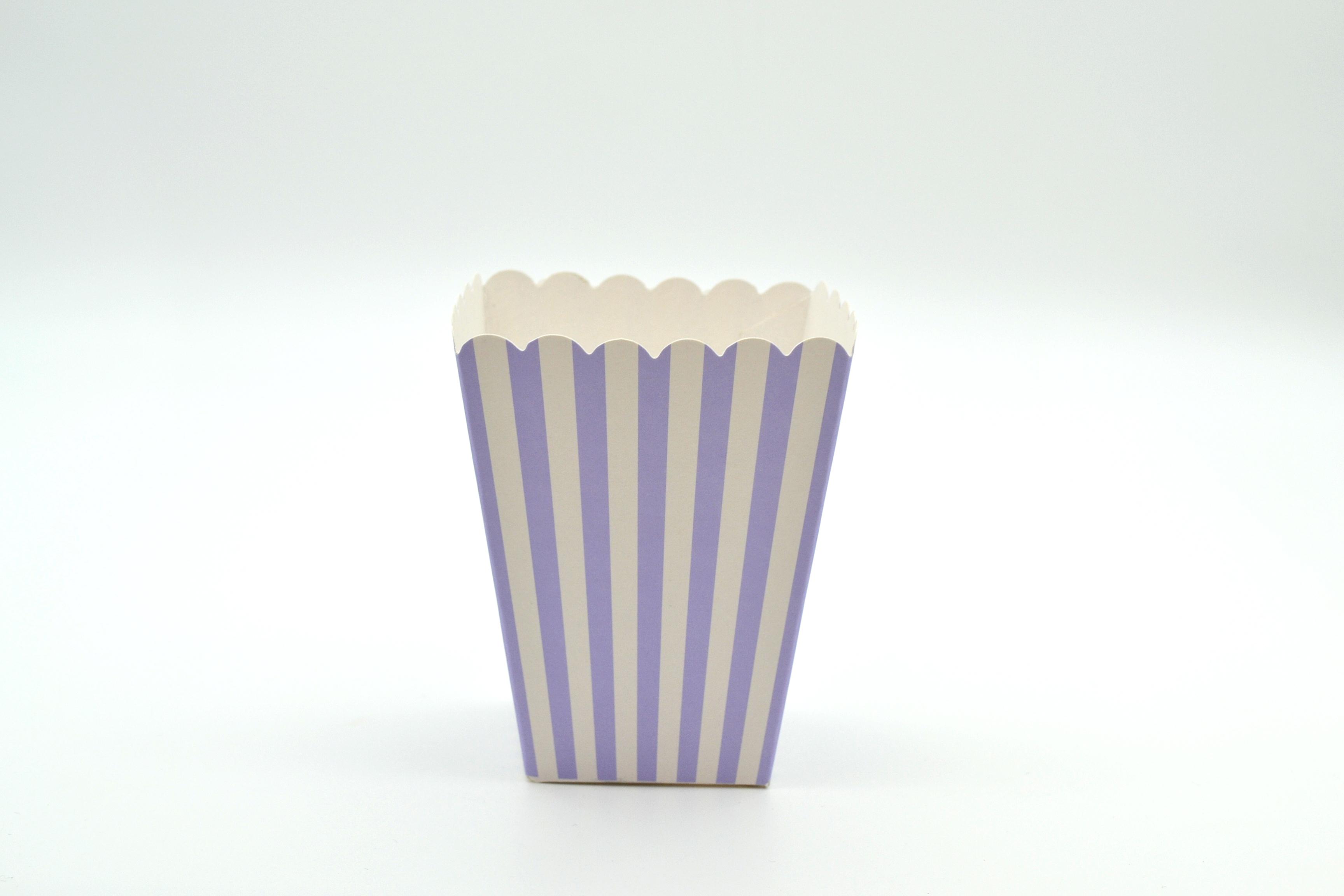 Box Popcorn Mini Lilac 5 x 5 x 10 cm (each) POPML