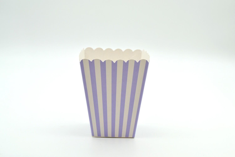 Box Popcorn Mini Lilac 5 x 5 x 10 cm (each)