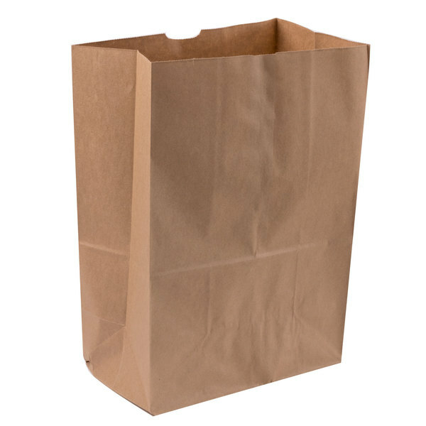 Paper Bags Kraft Shopper Supersack 280X160X360mm (50) X125012
