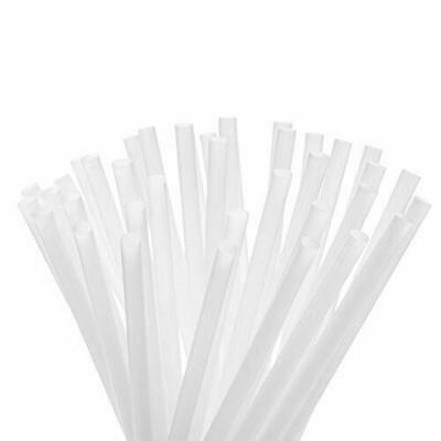 Bio Straws 6mm - Natural Unwrapped (Qty100)