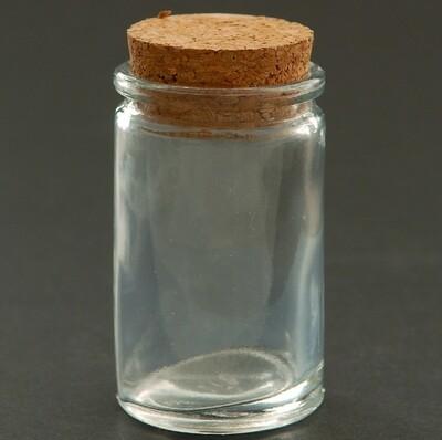 Glass Bottle Cork Lid (4.3x3.1x6.5cm) EA