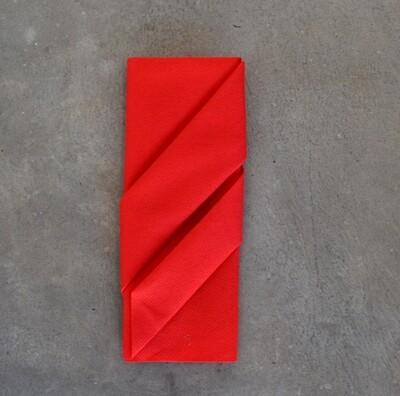 Napkins Airlaid Grande Bright Red 40 x 40cm (Qty 50)