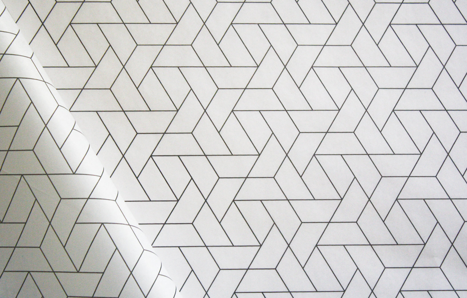 Tissue Paper - Geometric - Black On White (Qty 25) TPGBW