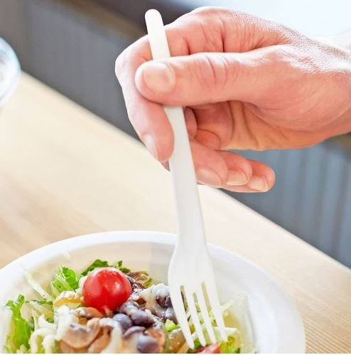 Cutlery Compostable Fork (Qty 100) CUTF
