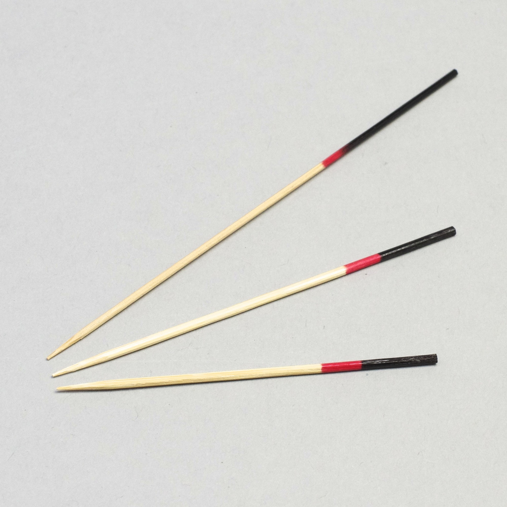 Skewers Kanjo Black & Red (Qty 100)
