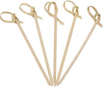Skewers Bamboo Ribbon 15cm (Qty 100) RIB15