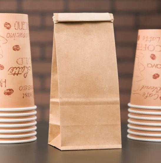 Paper Bag Brown Tin Tie Medium (Qty 50)