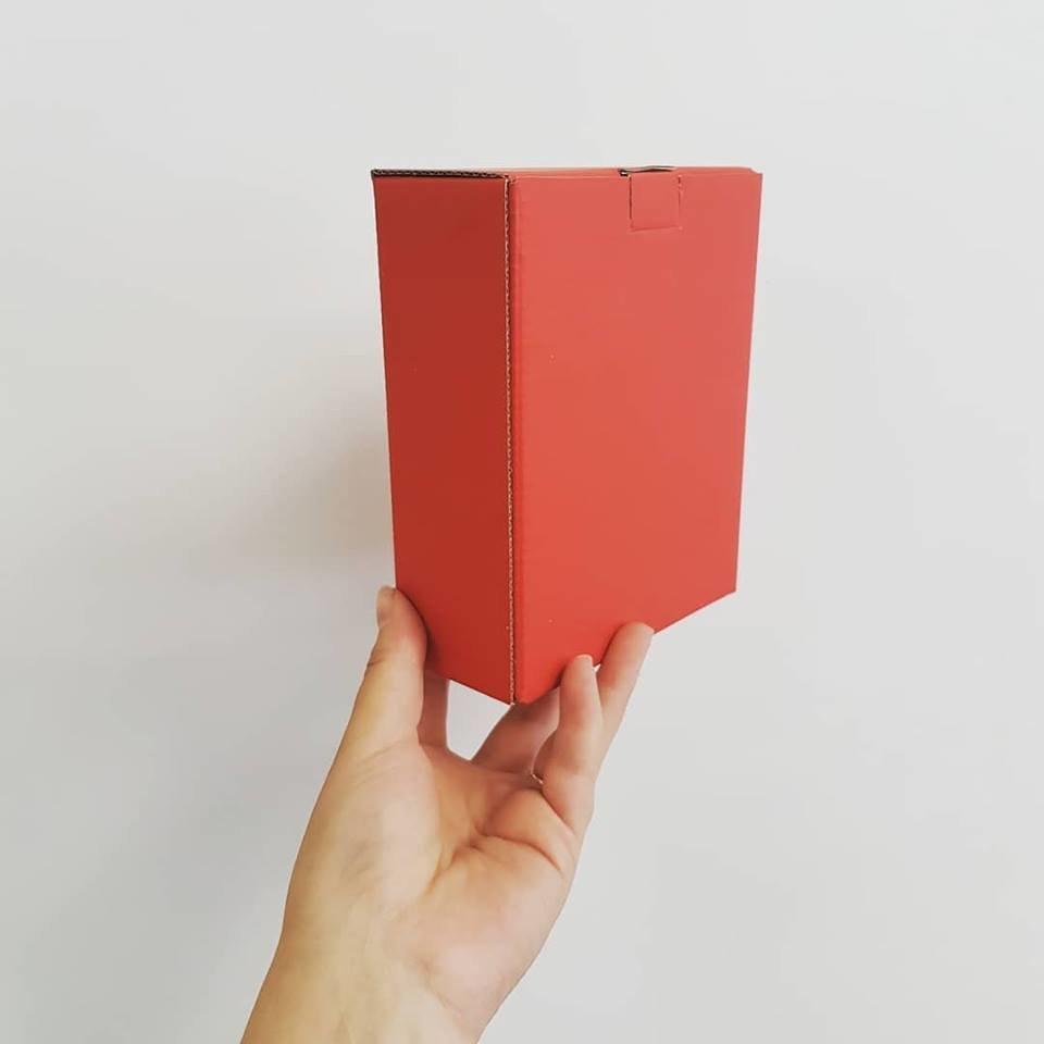 Corrugated Box E-Flute Red (each) PP2012C