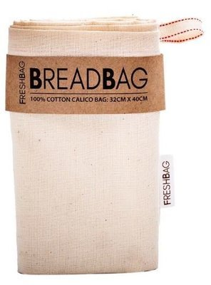 FreshBag 100% Cotton Bread Bag (Qty 1 piece)