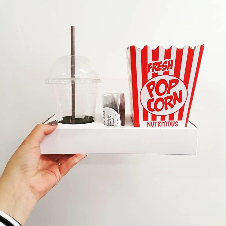 Box Tray Movie White (each)