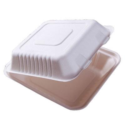 E - Compostable Clamshell Box - No Division (Qty 50) CS2022