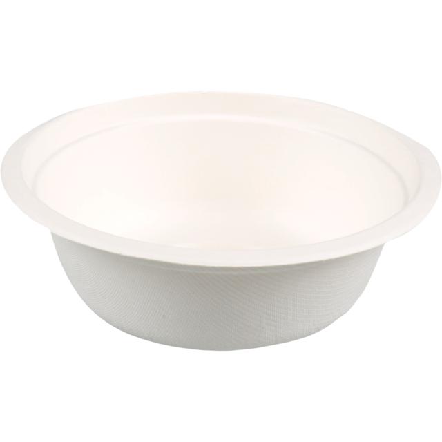 E - EcoWare Bagasse Bowl 500ml (Qty 50) EBB500