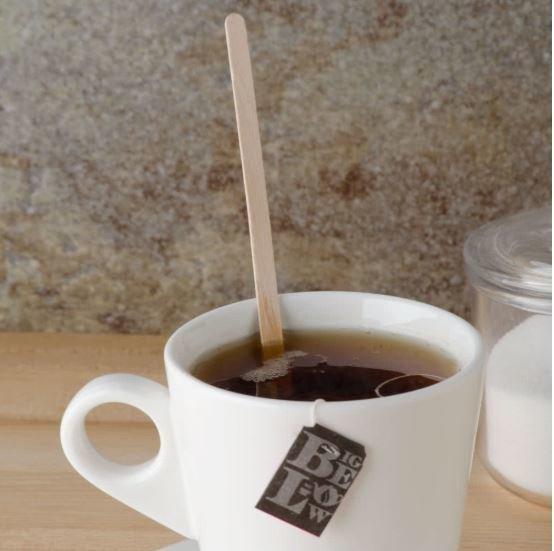 Cutlery Wooden Coffee Stirrers 19cm (Qty 1000)