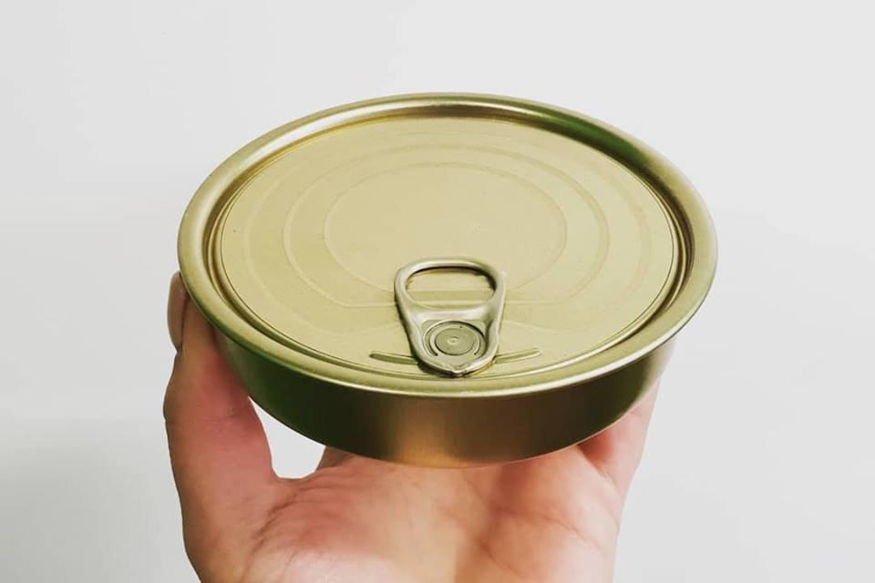 Tin Can & Lid - Round Sardine (each) PS52660