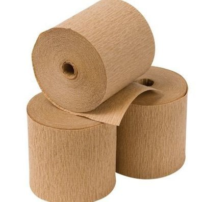 Eco Packing Crepe Paper on Roll Kraft (50m roll)