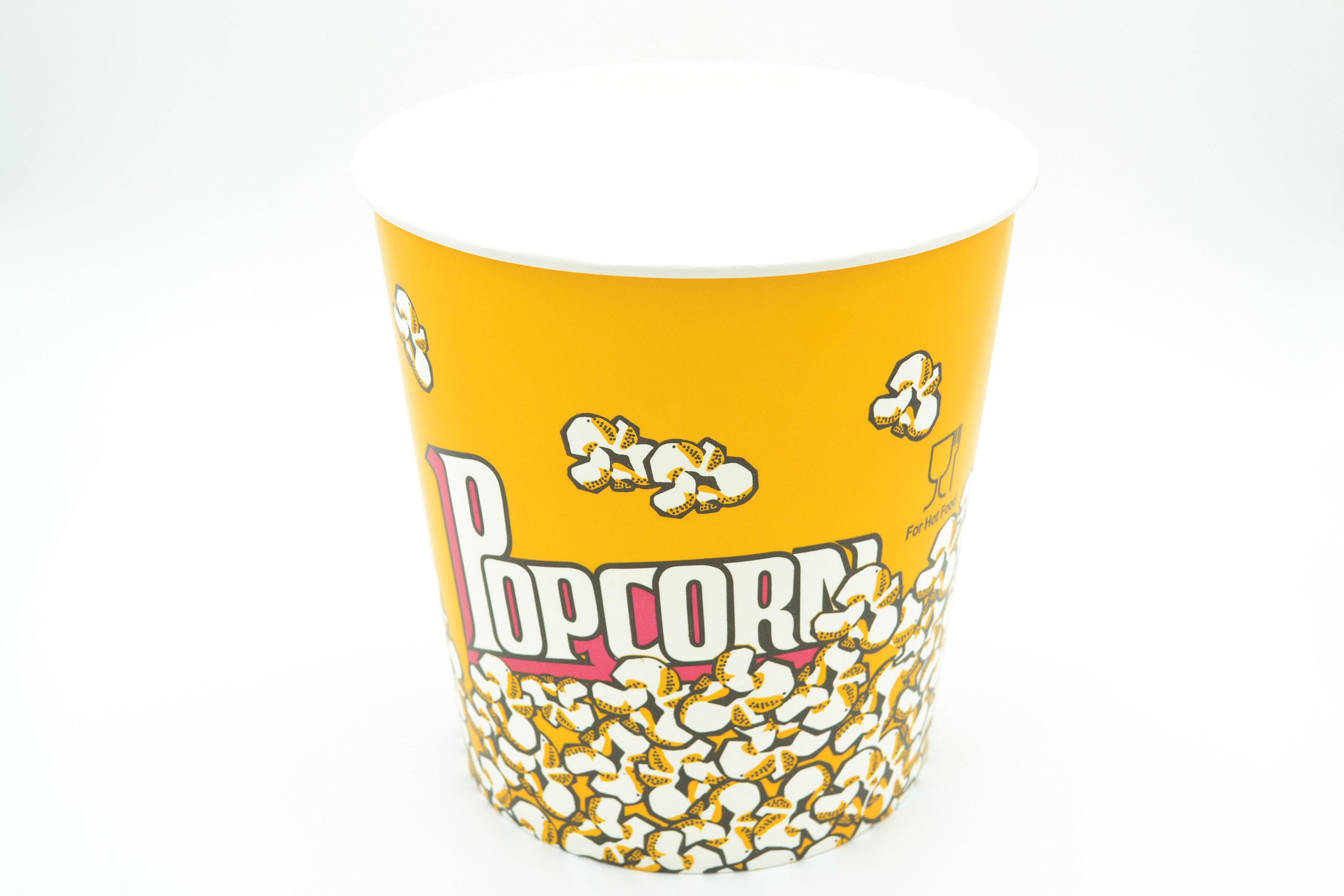 Popcorn Boxes 130oz - 3.8 litres (each) O010104