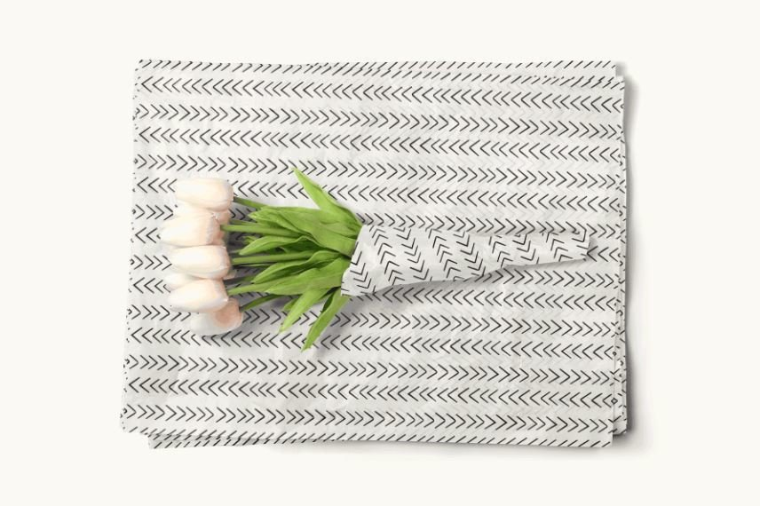 Tissue Paper-Retail Gift Pack Arrows (Qty 5)