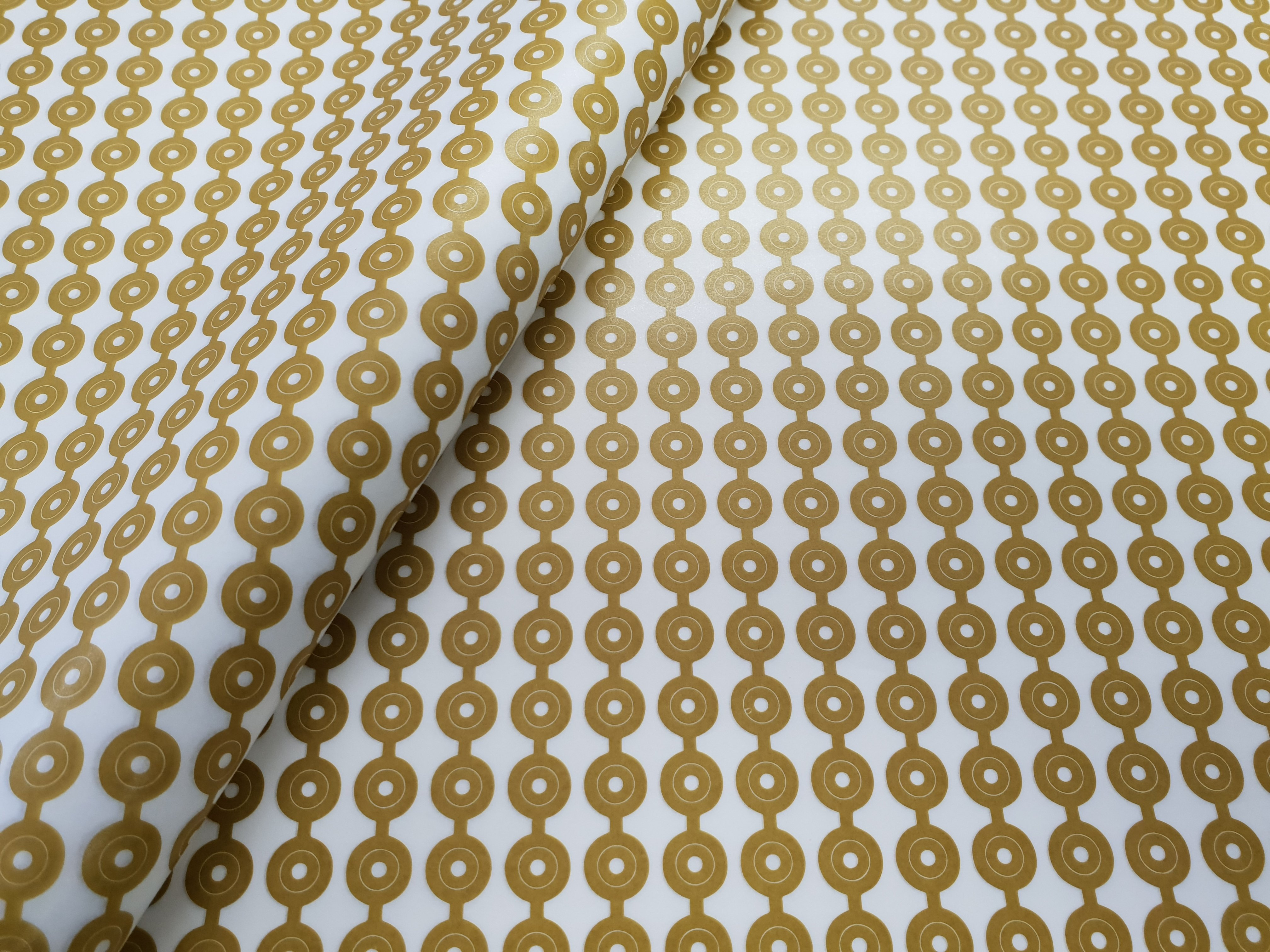 Tissue Paper- African Yellow Beads (Qty 25) TPAYB