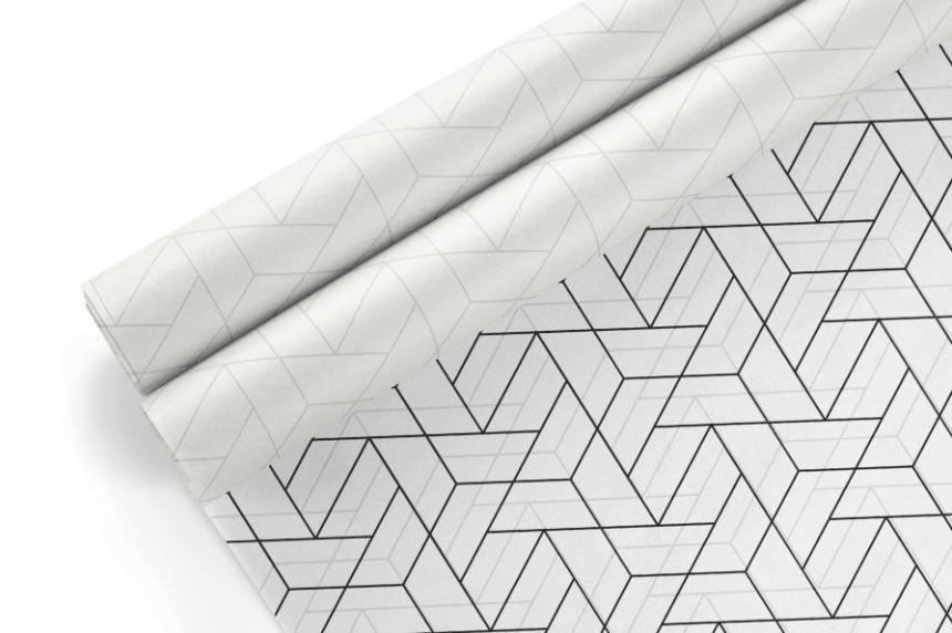 Tissue Paper-Retail Gift Pack Geometric 2 (Qty 5) TP5G2