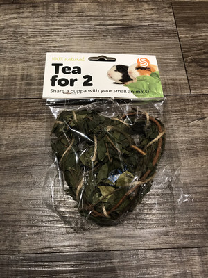 Tea Time Heart Natural Chew Large