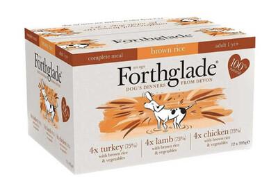 Forthglade Multipack Turkey, Lamb & Chicken 12 Pack