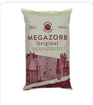 Megazorb 85l Bedding Litter