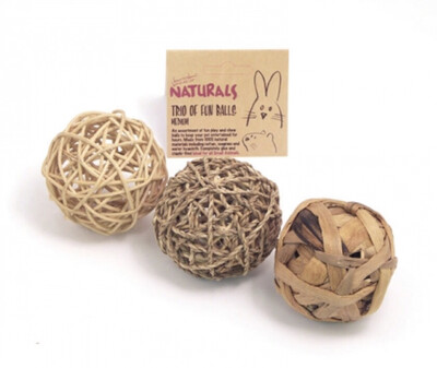 Rosewood Trio Of Fun Balls Medium