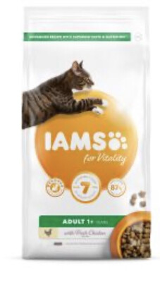 Iams Cat Adult Vitality Chicken 2 Kg
