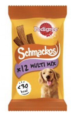 Schmackos 12 Stick Multi Mix