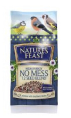 Natures Feast High Energy 12 Seed Mix Garden Bird Food 1kg