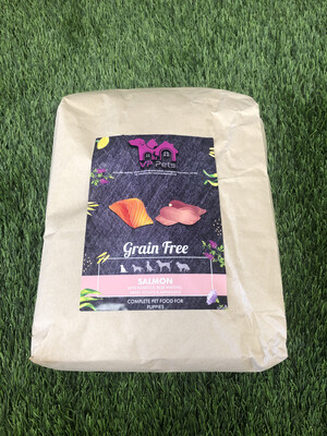 VP Grain Free Puppy Food - Salmon With Haddock & Blue Whiting, Sweet Potato & Asparagus 12kg