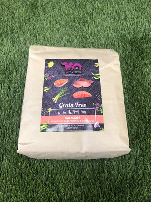 VP Grain Free Dog Food - Salmon, Trout, Sweet Potato & Asparagus 2kg
