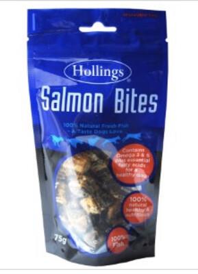 Hollings Salmon Bites Dog Treats
