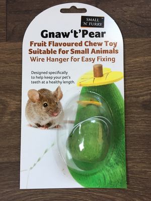 Small n Furry Gnaw Pear