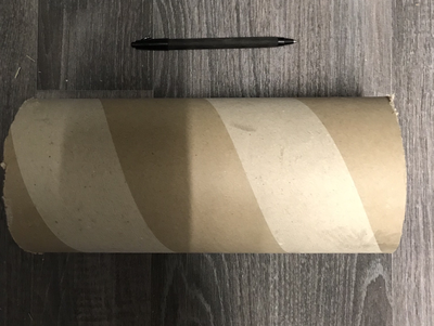 Recycled Cardboard Tube Large