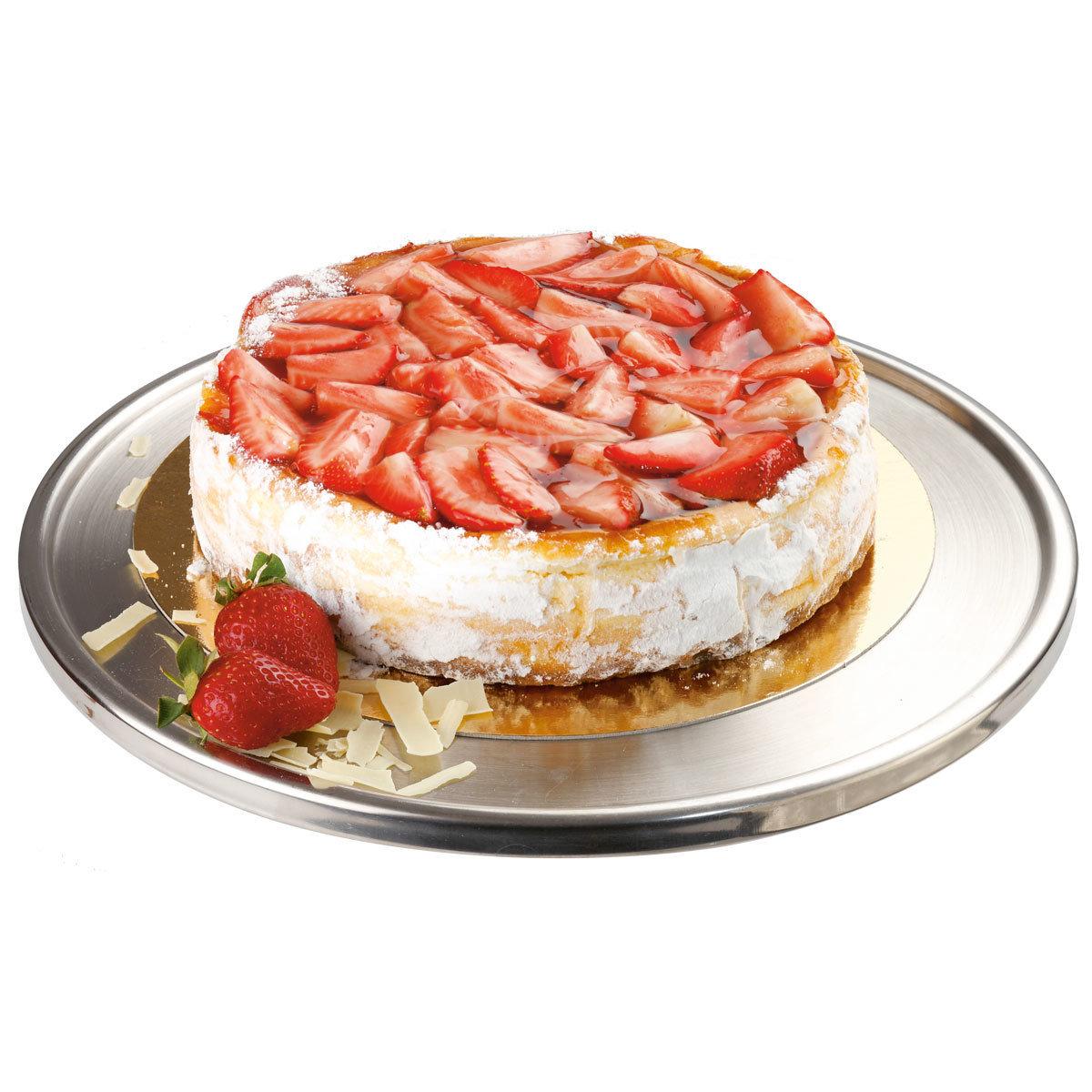 Mascarponejuustokakku mansikoilla bakery007