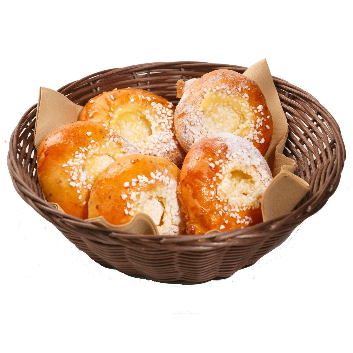Rahkatäytepulla (5 kpl) bakery054