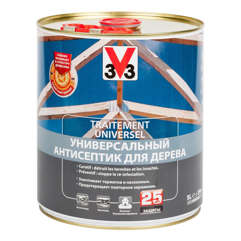 Универсальный антисептик для защиты дерева  V33 ТРИТМЕНТ