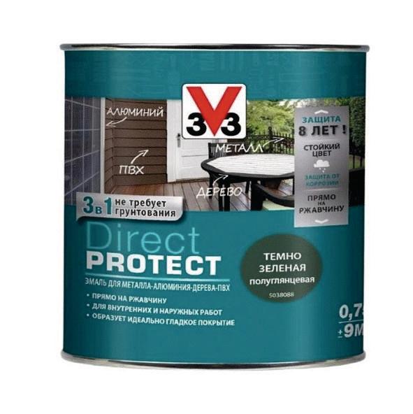 Эмаль V33 DIRECT PROTECT